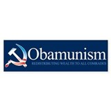 Obamunism Bumper Bumper Sticker