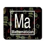 Mathematician Retro Mousepad