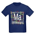 Mathematician Retro Kids Dark T-Shirt