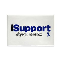 iSupport Alopecia Rectangle Magnet (10 pack)