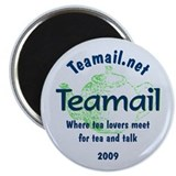 "I'm with the group Teamail 2009 2.5"" Magnet"