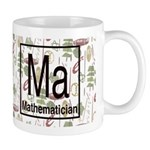 Mathematician Retro Mug