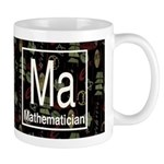 Mathematician Retro Dark Mug