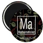 Mathematician Retro Magnet