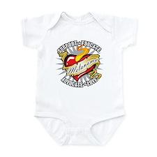 Melanoma Tattoo Heart Infant Bodysuit