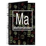 Mathematician Retro Journal
