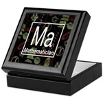 Mathematician Retro Keepsake Box