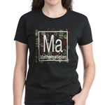 Mathematician Retro Women's Dark T-Shirt