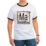 Mathematician Retro Ringer T