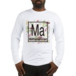 Mathematician Retro Long Sleeve T-Shirt