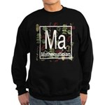 Mathematician Retro Sweatshirt (dark)