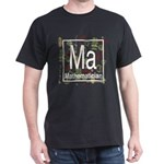Mathematician Retro Dark T-Shirt