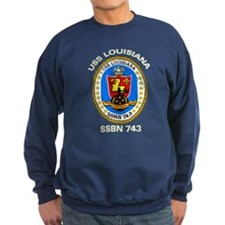 USS Louisiana SSBN 743 Sweatshirt