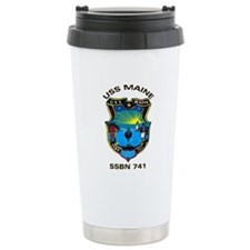 USS Maine SSBN 741 Ceramic Travel Mug