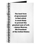 James Monroe Quotation Journal
