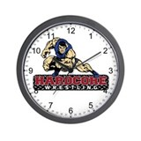 Hardcore Wrestling Wall Clock