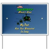 Medi-Vac-DAD-Iraq Yard Sign