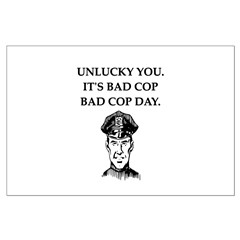 good cop police Large Poster