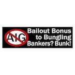Anti-AIG Bailout Bumper Sticker