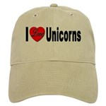 I Love Unicorns Cap