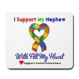 Autism ISupportMy Nephew Mousepad