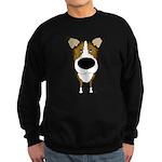 Big Nose Smooth Collie Sweatshirt (dark)