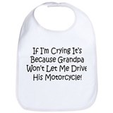 Drive My Grandpas Motorcycle Bib