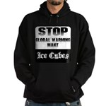 Stop Global Warming Hoodie (dark)