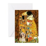 Kiss / Lhasa Apso #4 Greeting Cards (Pk of 20)