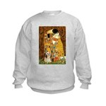 Kiss / Lhasa Apso #4 Kids Sweatshirt
