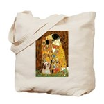 Kiss / Lhasa Apso #4 Tote Bag
