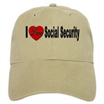 I Love Social Security Cap