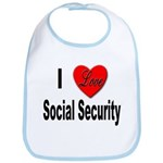 I Love Social Security Bib