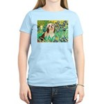 Irises / Lhasa Apso #4 Women's Light T-Shirt