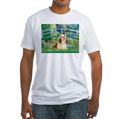 Bridge / Lhasa Apso #4 Fitted T-Shirt