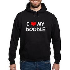 I Love My Doodle Hoodie