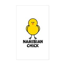 Namibian Chick Rectangle Decal
