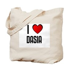 I LOVE DASIA Tote Bag