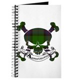 Armstrong Tartan Skull Journal