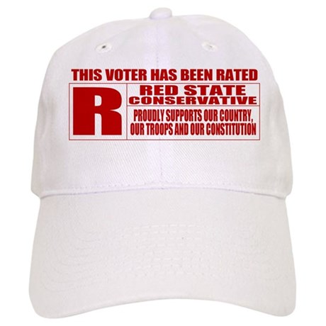Rated R Red State Conservative Cap