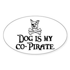 Co-Pirate Oval Decal