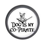Co-Pirate Wall Clock