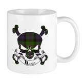 Baird Tartan Skull Mug