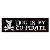 Co-Pirate Bumper Sticker