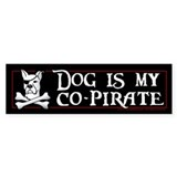 Co-Pirate Car Sticker