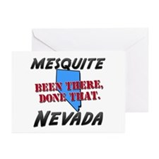 mesquite nevada - been there, done that Greeting C