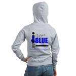 IWearBlue Granddaughter Women's Zip Hoodie