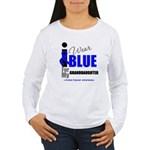 IWearBlue Granddaughter Women's Long Sleeve T-Shir