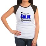 IWearBlue Granddaughter Women's Cap Sleeve T-Shirt