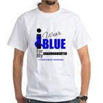 IWearBlue Granddaughter White T-Shirt